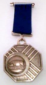 Varken: onderscheiding van de Orde van de Blauwe Draak